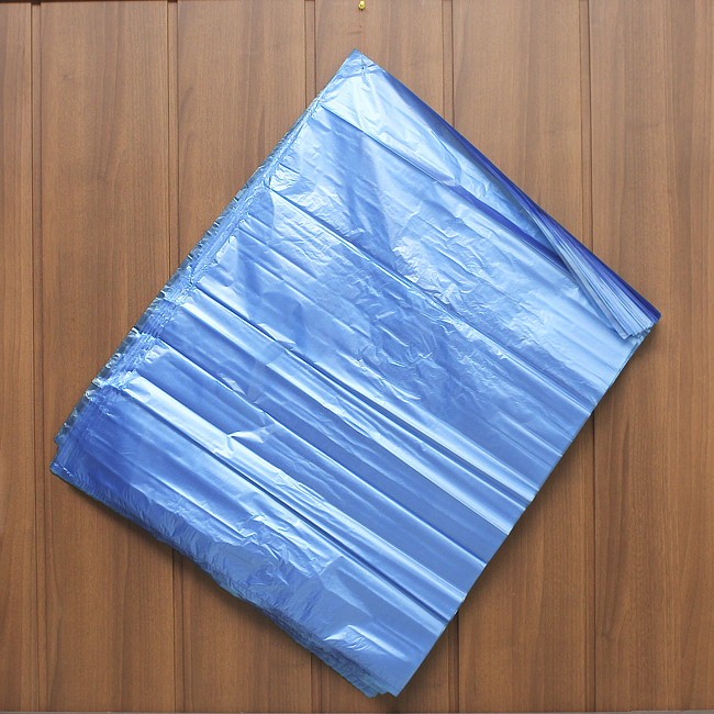 50p 비닐봉투(청색-63) [제작 대량 도매 로고 인쇄 레이저 마킹 각인 나염 실크 uv 포장 공장 문의는 네이뽕]