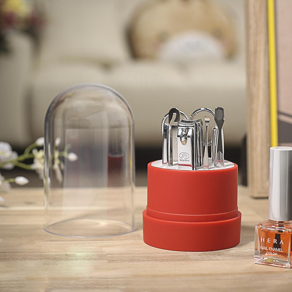 쓰리세븐 손톱깎이(TS-070VC RED) [제작 대량 도매 로고 인쇄 레이저 마킹 각인 나염 실크 uv 포장 공장 문의는 네이뽕]