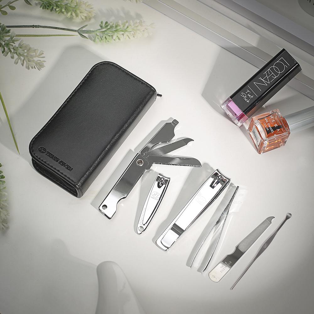 쓰리세븐 손톱깎이(TS-460EC BLACK) [제작 대량 도매 로고 인쇄 레이저 마킹 각인 나염 실크 uv 포장 공장 문의는 네이뽕]
