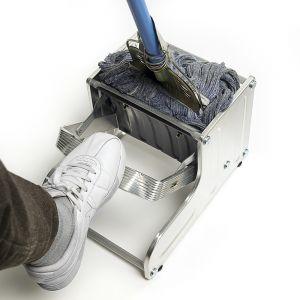 파워 스틸 대걸레 짤순이 [제작 대량 도매 로고 인쇄 레이저 마킹 각인 나염 실크 uv 포장 공장 문의는 네이뽕]