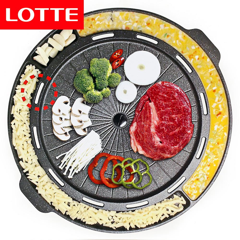 롯데 이라이프 치즈계란 구이팬/삼겹살구이 고기불판