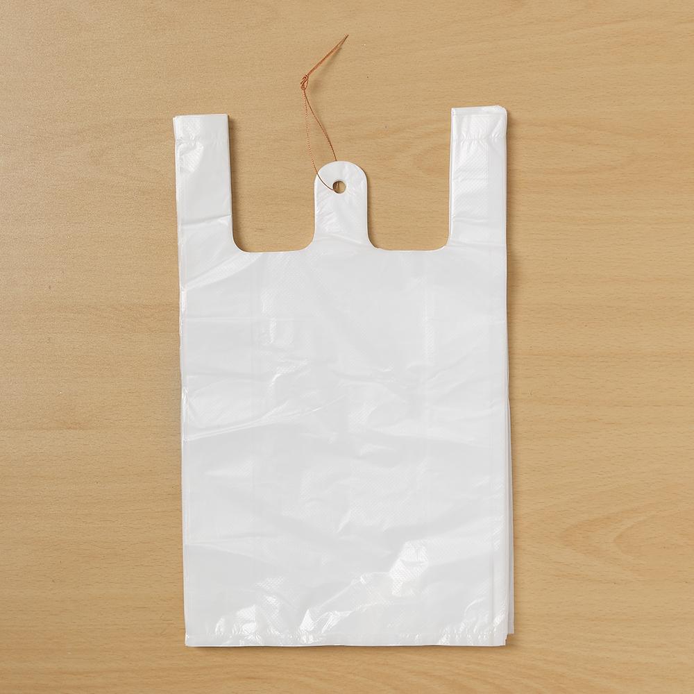 200p 비닐봉투(흰색-1호) [제작 대량 도매 로고 인쇄 레이저 마킹 각인 나염 실크 uv 포장 공장 문의는 네이뽕]