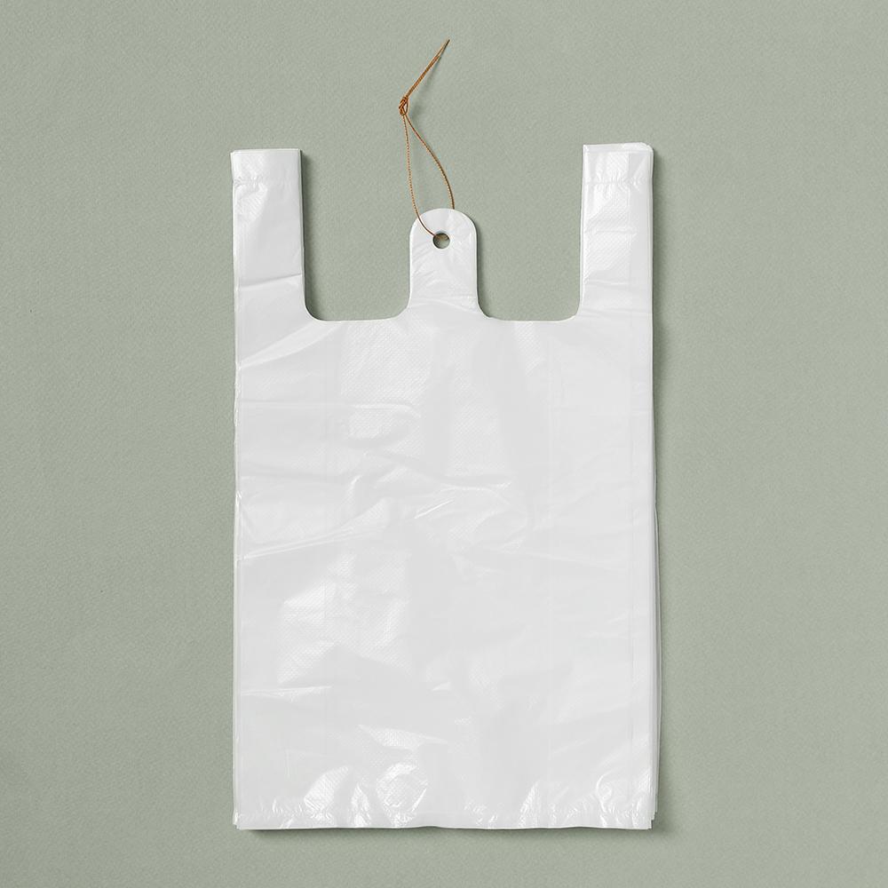 200p 비닐봉투(흰색-2호) [제작 대량 도매 로고 인쇄 레이저 마킹 각인 나염 실크 uv 포장 공장 문의는 네이뽕]
