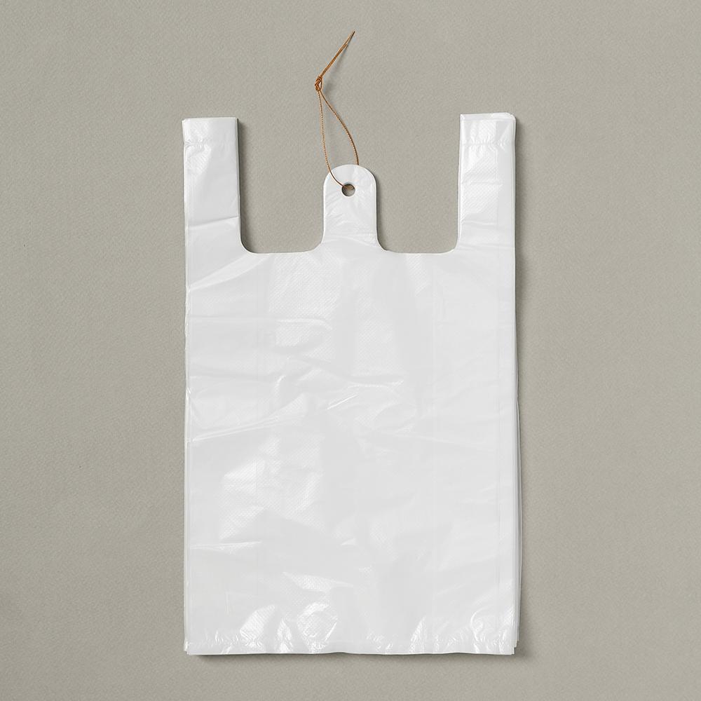 100p 비닐봉투(흰색-3호) [제작 대량 도매 로고 인쇄 레이저 마킹 각인 나염 실크 uv 포장 공장 문의는 네이뽕]