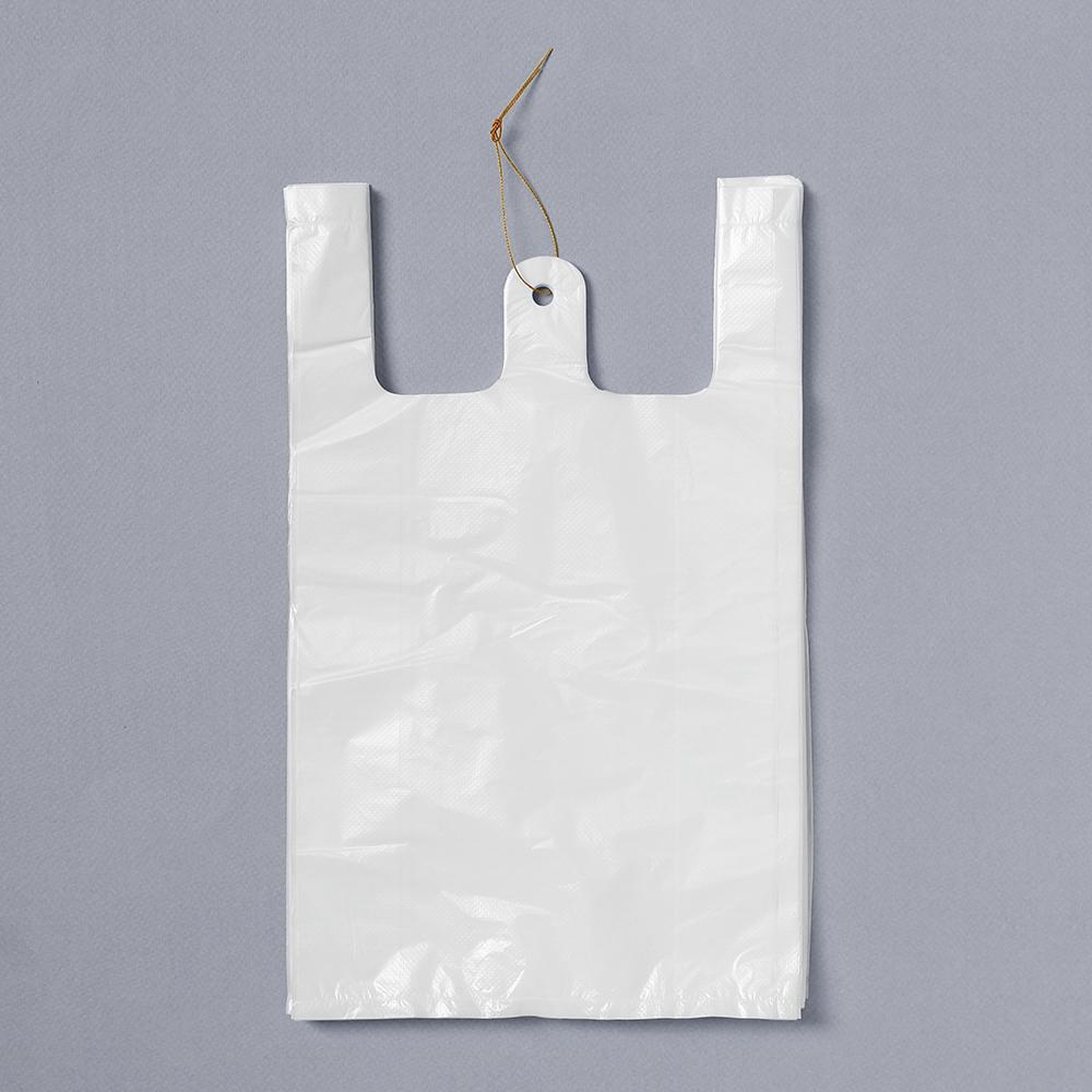 100p 비닐봉투(흰색-4호) [제작 대량 도매 로고 인쇄 레이저 마킹 각인 나염 실크 uv 포장 공장 문의는 네이뽕]