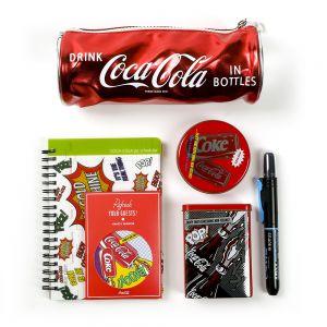 코카콜라 종합 문구세트 [제작 대량 도매 로고 인쇄 레이저 마킹 각인 나염 실크 uv 포장 공장 문의는 네이뽕]