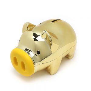 마키골드 돼지 저금통(대) [제작 대량 도매 로고 인쇄 레이저 마킹 각인 나염 실크 uv 포장 공장 문의는 네이뽕]