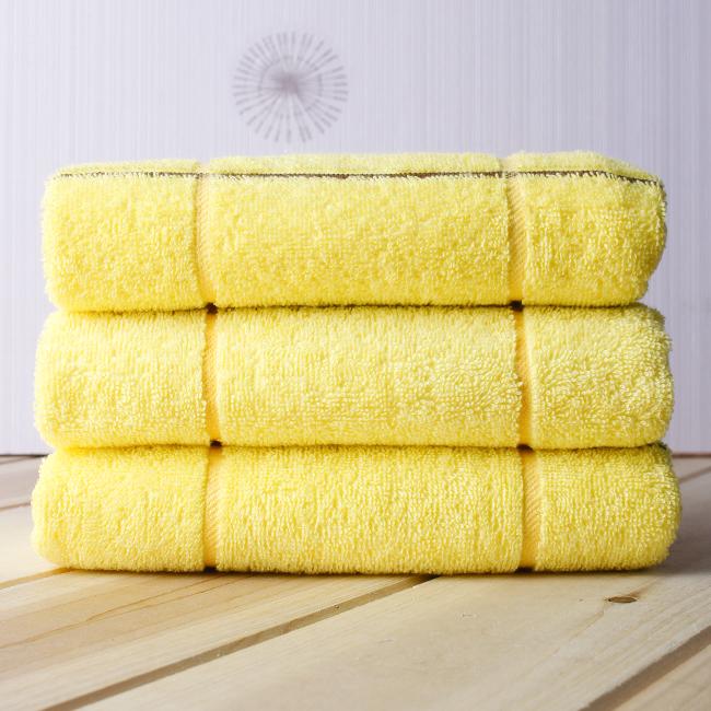 고방타월(85g) (노랑) [제작 대량 도매 로고 인쇄 레이저 마킹 각인 나염 실크 uv 포장 공장 문의는 네이뽕]