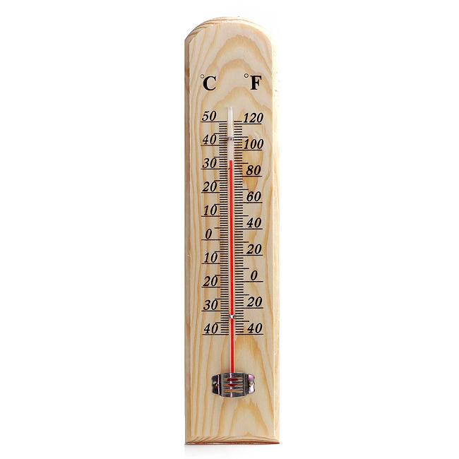 섭씨 화씨 나무온도계/가정용 실내인테리어용 온도계
