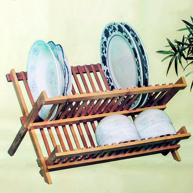 대나무 접이식 접시 선반 [제작 대량 도매 로고 인쇄 레이저 마킹 각인 나염 실크 uv 포장 공장 문의는 네이뽕]