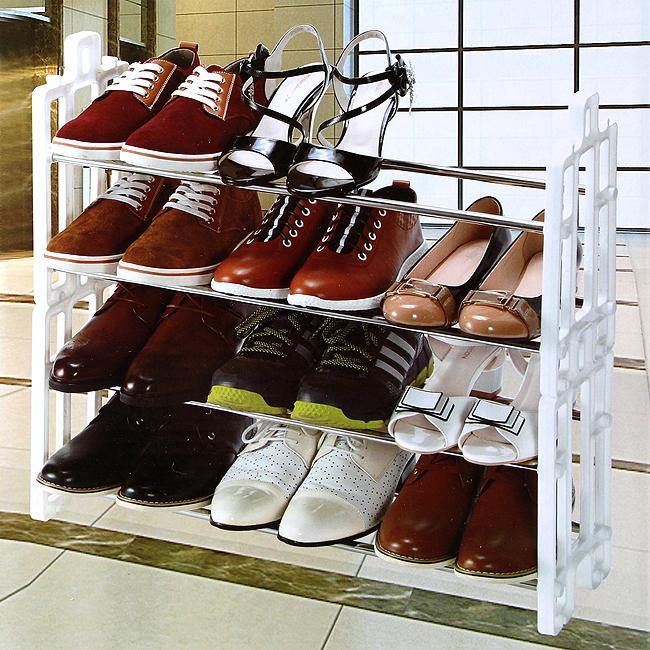스테인리스 조립식 12켤레 신발장 [제작 대량 도매 로고 인쇄 레이저 마킹 각인 나염 실크 uv 포장 공장 문의는 네이뽕]