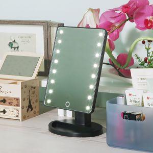 16구 LED 터치터치 조명거울 [제작 대량 도매 로고 인쇄 레이저 마킹 각인 나염 실크 uv 포장 공장 문의는 네이뽕]