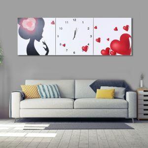 러블리 병풍 벽시계(120cm) [제작 대량 도매 로고 인쇄 레이저 마킹 각인 나염 실크 uv 포장 공장 문의는 네이뽕]