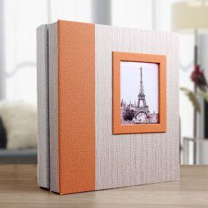 에펠탑 액자 접착식 포토앨범(20매) [제작 대량 도매 로고 인쇄 레이저 마킹 각인 나염 실크 uv 포장 공장 문의는 네이뽕]