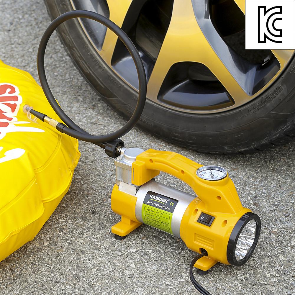 제노테크 LED 차량용 에어컴프레셔 펌프 [제작 대량 도매 로고 인쇄 레이저 마킹 각인 나염 실크 uv 포장 공장 문의는 네이뽕]