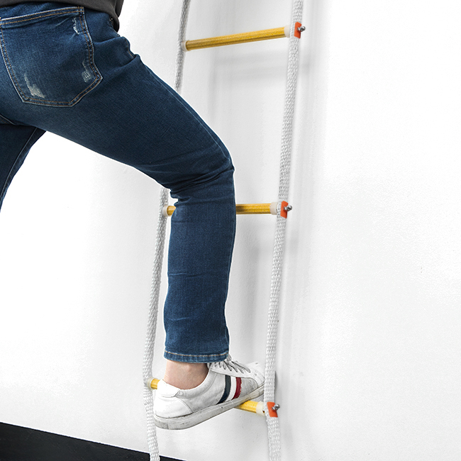 5M 안전 줄사다리 [제작 대량 도매 로고 인쇄 레이저 마킹 각인 나염 실크 uv 포장 공장 문의는 네이뽕]