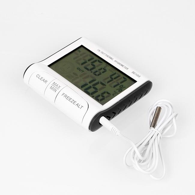 아이방  스마일 실내외 온습도계 2개 유아용온습도계 실내온습도계 온도계