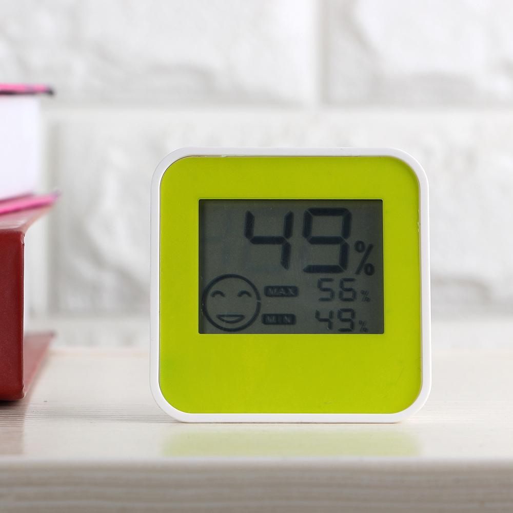 미니 탁상용 멀티 온도 습도계(6.5x6.5cm) [제작 대량 도매 로고 인쇄 레이저 마킹 각인 나염 실크 uv 포장 공장 문의는 네이뽕]