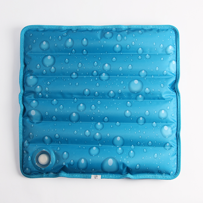 물방울 아이스 쿨방석(36cm) [제작 대량 도매 로고 인쇄 레이저 마킹 각인 나염 실크 uv 포장 공장 문의는 네이뽕]