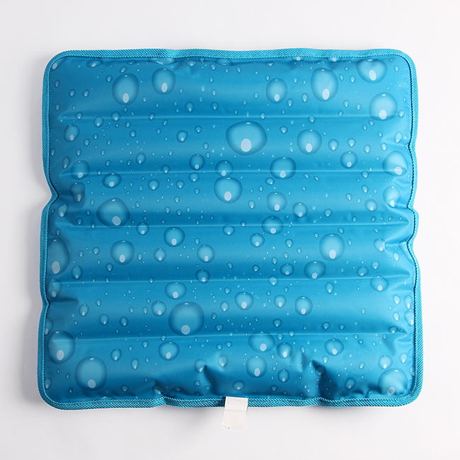 물방울 아이스 쿨방석(45cm) [제작 대량 도매 로고 인쇄 레이저 마킹 각인 나염 실크 uv 포장 공장 문의는 네이뽕]