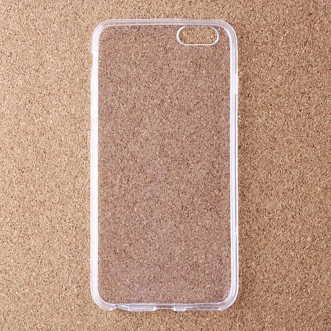 IOS 스마트폰 6 Plus 투명 젤리 케이스 [제작 대량 도매 로고 인쇄 레이저 마킹 각인 나염 실크 uv 포장 공장 문의는 네이뽕]