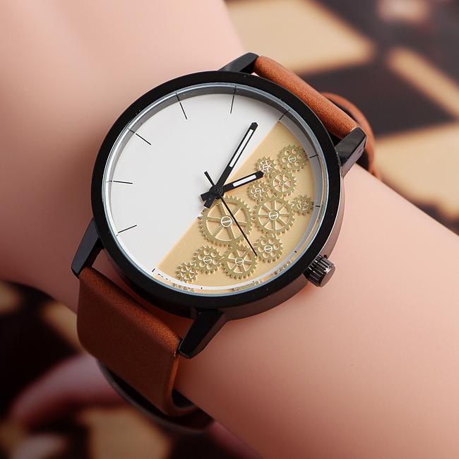 올리버 태엽 손목시계 [제작 대량 도매 로고 인쇄 레이저 마킹 각인 나염 실크 uv 포장 공장 문의는 네이뽕]