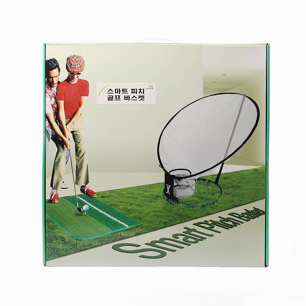 스마트 피치 골프 바스켓 [제작 대량 도매 로고 인쇄 레이저 마킹 각인 나염 실크 uv 포장 공장 문의는 네이뽕]