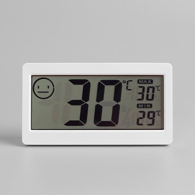 굿스마일 디지털 온도 습도계 [제작 대량 도매 로고 인쇄 레이저 마킹 각인 나염 실크 uv 포장 공장 문의는 네이뽕]
