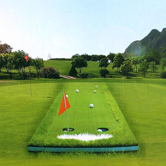 리얼 골프 퍼팅 그린(3M) [제작 대량 도매 로고 인쇄 레이저 마킹 각인 나염 실크 uv 포장 공장 문의는 네이뽕]