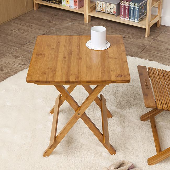 간편 접이식 우드 사각 테이블 [제작 대량 도매 로고 인쇄 레이저 마킹 각인 나염 실크 uv 포장 공장 문의는 네이뽕]