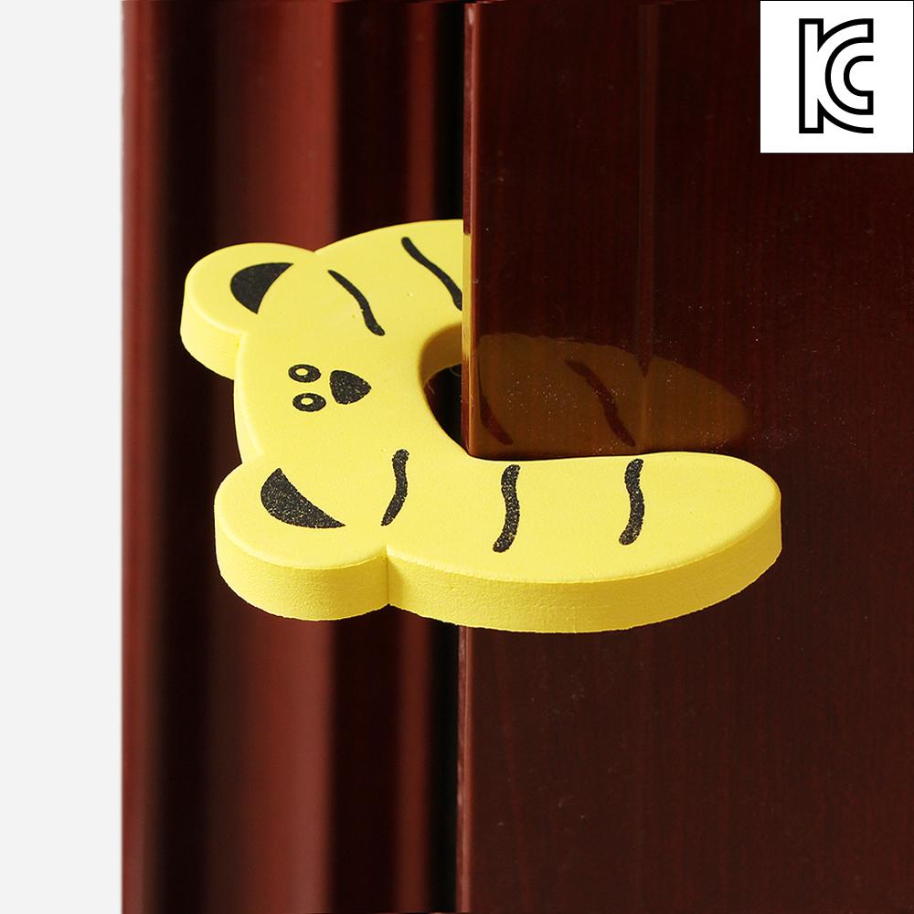 에니멀 문닫힘방지 쿠션(2p) [제작 대량 도매 로고 인쇄 레이저 마킹 각인 나염 실크 uv 포장 공장 문의는 네이뽕]