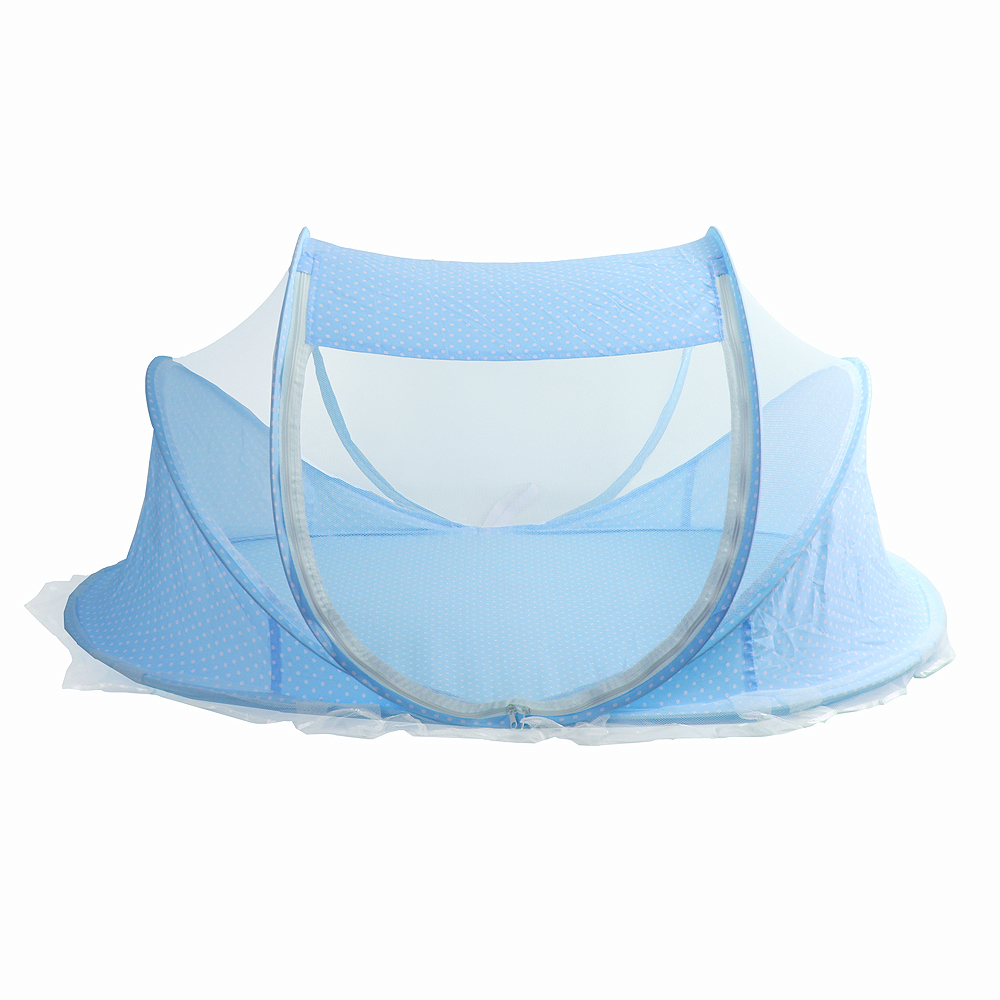 엔젤 원터치 유아모기장(블루) [제작 대량 도매 로고 인쇄 레이저 마킹 각인 나염 실크 uv 포장 공장 문의는 네이뽕]