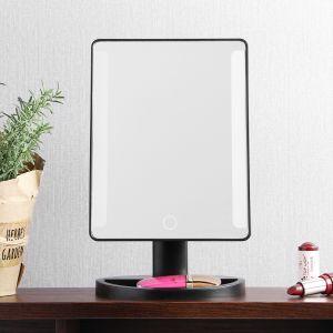 터치 스탠드 LED 조명거울 [제작 대량 도매 로고 인쇄 레이저 마킹 각인 나염 실크 uv 포장 공장 문의는 네이뽕]