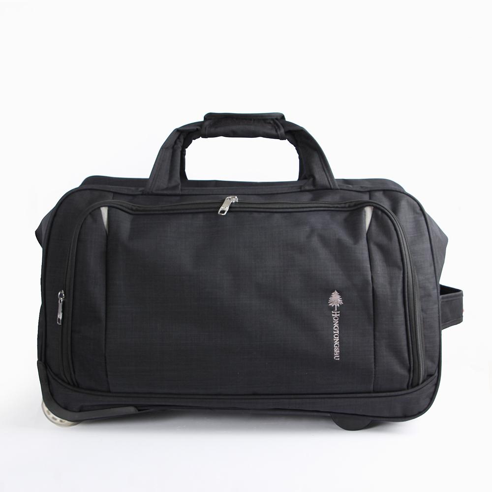 2in1 여행용 캐리어 보스턴백(블랙) [제작 대량 도매 로고 인쇄 레이저 마킹 각인 나염 실크 uv 포장 공장 문의는 네이뽕]