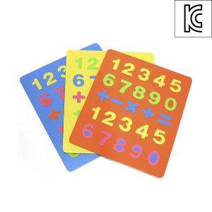 사각 퍼즐 숫자 매트 [제작 대량 도매 로고 인쇄 레이저 마킹 각인 나염 실크 uv 포장 공장 문의는 네이뽕]