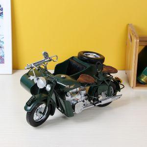[아트피플-A293]철제 모형 삼륜 오토바이 [제작 대량 도매 로고 인쇄 레이저 마킹 각인 나염 실크 uv 포장 공장 문의는 네이뽕]