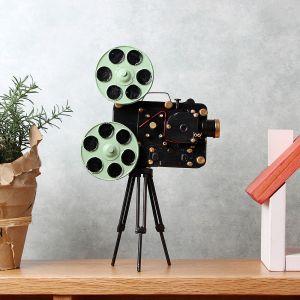 [아트피플-A277]철제 모형 영화 영사기 [제작 대량 도매 로고 인쇄 레이저 마킹 각인 나염 실크 uv 포장 공장 문의는 네이뽕]