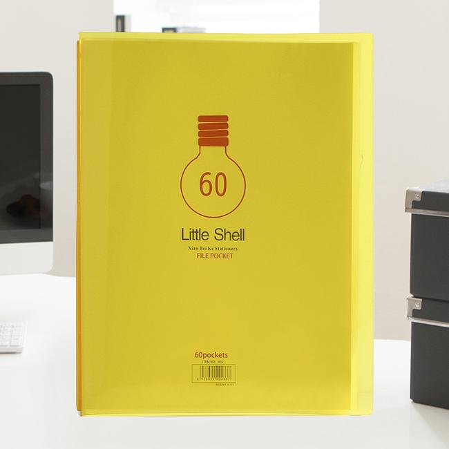 오피스 포켓 클리어화일(60매) [제작 대량 도매 로고 인쇄 레이저 마킹 각인 나염 실크 uv 포장 공장 문의는 네이뽕]