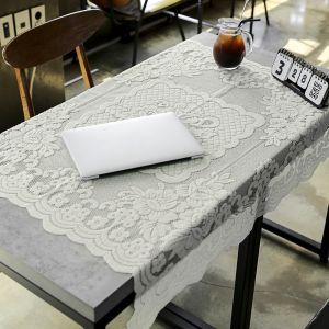 프렌치 레이스 테이블보(로맨틱) (100X100cm) [제작 대량 도매 로고 인쇄 레이저 마킹 각인 나염 실크 uv 포장 공장 문의는 네이뽕]