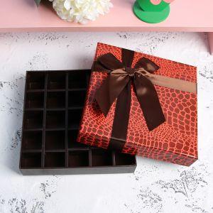 25구 달콤 모아 초콜릿케이스 [제작 대량 도매 로고 인쇄 레이저 마킹 각인 나염 실크 uv 포장 공장 문의는 네이뽕]