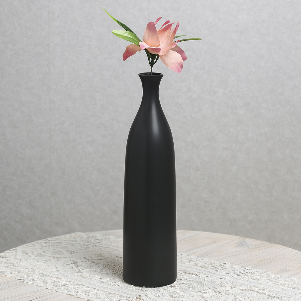 [아트피플-V54]모노 도자기 인테리어 꽃병 [제작 대량 도매 로고 인쇄 레이저 마킹 각인 나염 실크 uv 포장 공장 문의는 네이뽕]