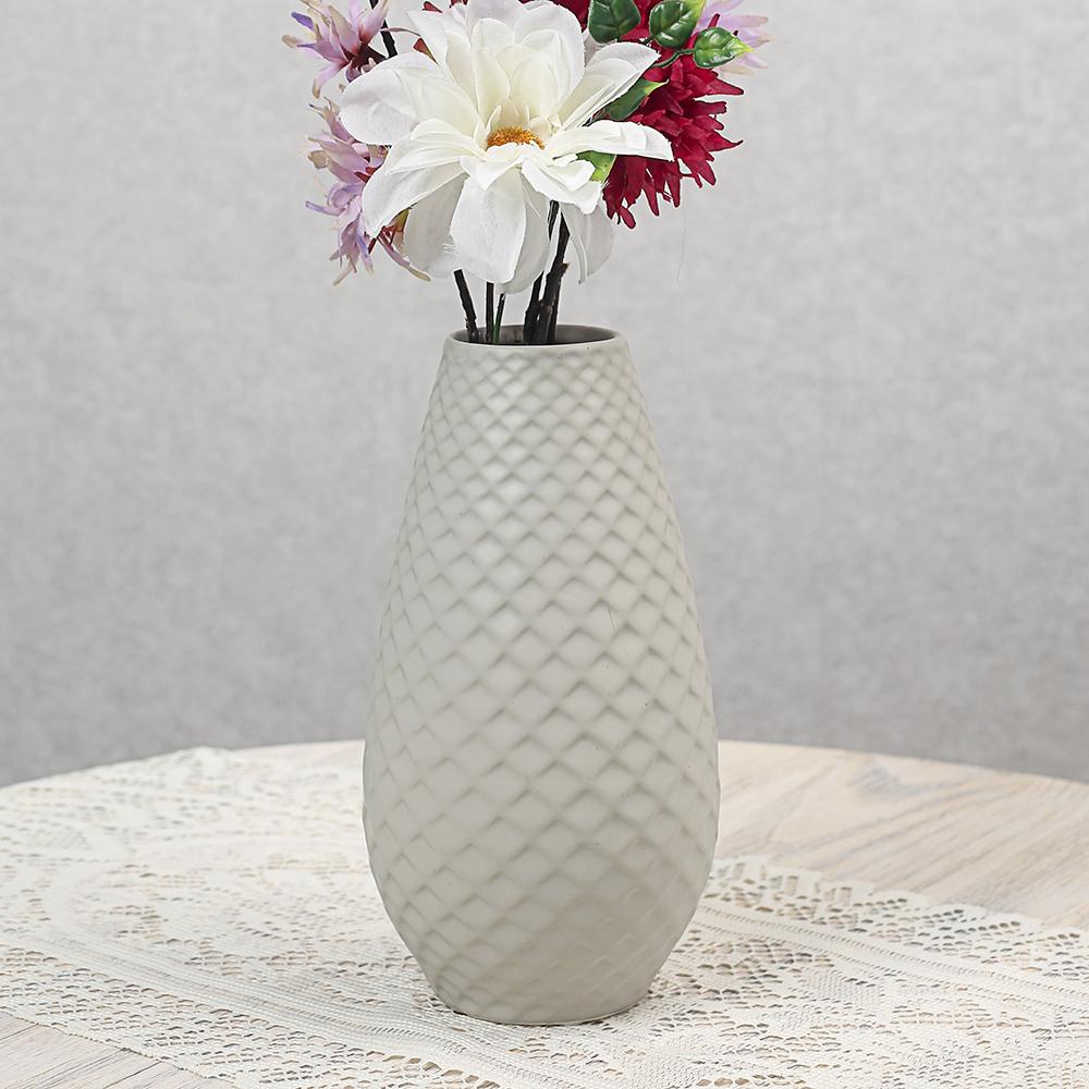 [아트피플-V63]진스 도자기 인테리어 꽃병 [제작 대량 도매 로고 인쇄 레이저 마킹 각인 나염 실크 uv 포장 공장 문의는 네이뽕]