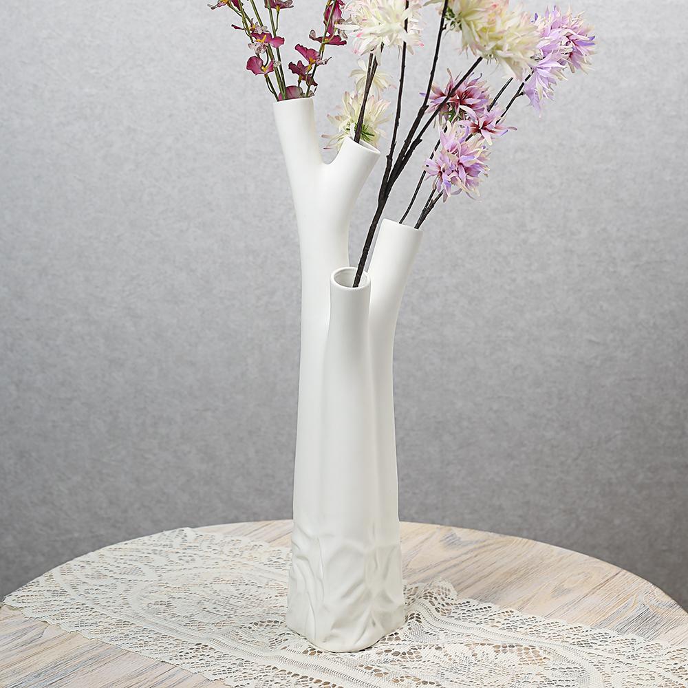 [아트피플-V78]나무 도자기 인테리어 꽃병 [제작 대량 도매 로고 인쇄 레이저 마킹 각인 나염 실크 uv 포장 공장 문의는 네이뽕]