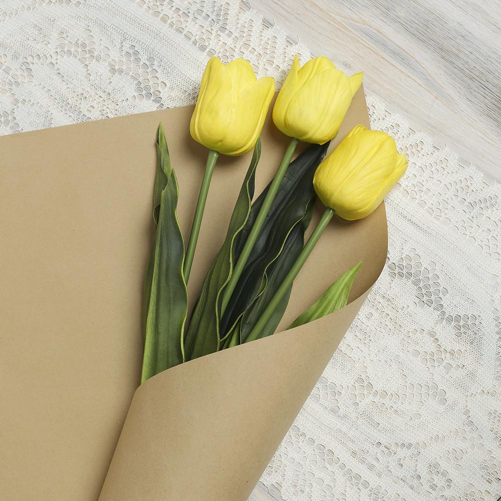 플라워가든 튤립 조화/꽃다발 꽃장식 인테리어 조화꽃