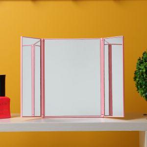 LED 레이디 메이크업 조명거울 [제작 대량 도매 로고 인쇄 레이저 마킹 각인 나염 실크 uv 포장 공장 문의는 네이뽕]