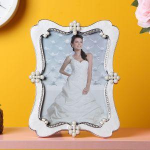 엘리아 진주펄 사진 액자(4x6) [제작 대량 도매 로고 인쇄 레이저 마킹 각인 나염 실크 uv 포장 공장 문의는 네이뽕]