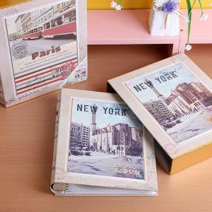 도시풍경 포켓식 포토앨범(25매) [제작 대량 도매 로고 인쇄 레이저 마킹 각인 나염 실크 uv 포장 공장 문의는 네이뽕]