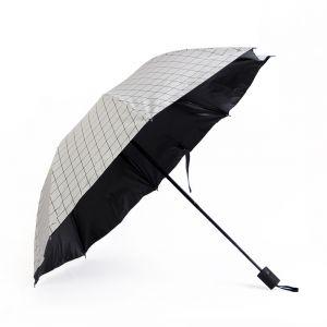 큐브 패턴 3단 우산 [제작 대량 도매 로고 인쇄 레이저 마킹 각인 나염 실크 uv 포장 공장 문의는 네이뽕]