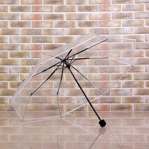 초경량 3단 투명 우산 [제작 대량 도매 로고 인쇄 레이저 마킹 각인 나염 실크 uv 포장 공장 문의는 네이뽕]