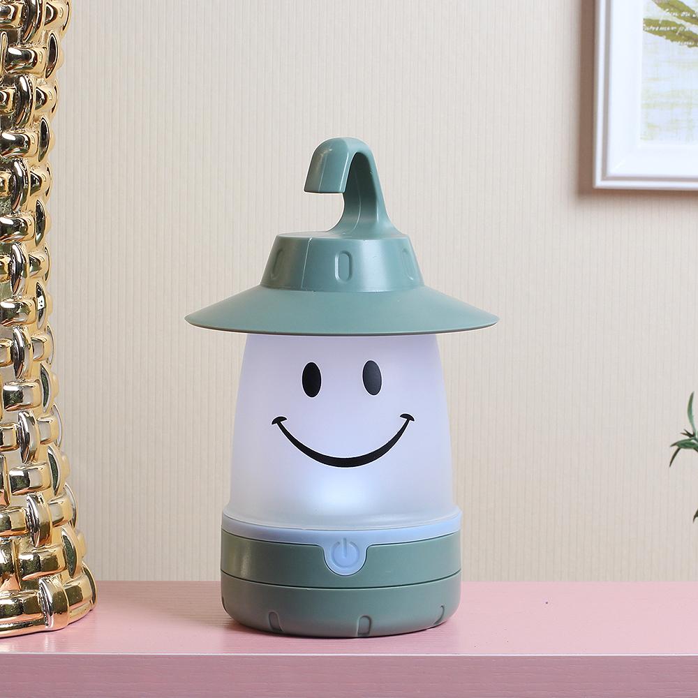 스마일 컬러콘 램프 [제작 대량 도매 로고 인쇄 레이저 마킹 각인 나염 실크 uv 포장 공장 문의는 네이뽕]